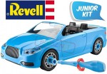 JUNIOR KIT Niebieski Kabriolet REVELL model do składania