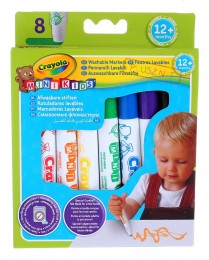 Flamastry ZMYWALNE Mini Kids CRAYOLA Mazaki