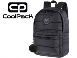 COOLPACK CZARNY PLECAK RUBY 24 l puchowy 12638 + POMPON