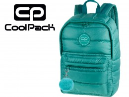COOLPACK ZIELONY PLECAK RUBY 24 l puchowy 12539  + POMPON