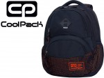COOLPACK DART II Plecak Dots Orange Navy 27 L 30063