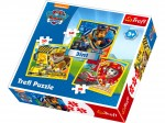 TREFL Puzzle 3w1 PSI PATROL MARSHALL RUBBLE CHASE
