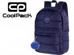 COOLPACK GRANATOWY PLECAK RUBY 24 l puchowy 12553 + POMPON