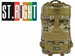 ST.RIGHT PLECAK 4-komorowy BP43  MILITARY MULTI CAMO 25 LITRÓW + GRATIS chusta