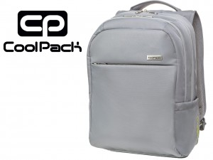 COOLPACK Szary Plecak na Laptopa 13' FORCE LIGHT GREY Laptop 42107