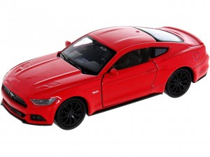 CZERWONY MODEL FORD MUSTANG GT  Skala 1:34 Muscle Car WELLY