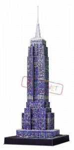 EMPIRE STATE BUILDING Ravensburger LED 3D 216 el
