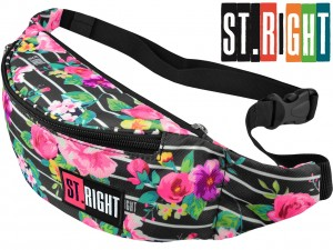 ST.RIGHT NERKA Saszetka na Pasek 618512 LIGHT ROSES