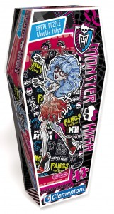 Puzzle 150 elementów MONSTER HIGH GHOULIA YELPS
