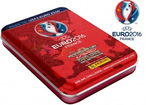 Mini Puszka Karty do Gry Road To Euro Panini