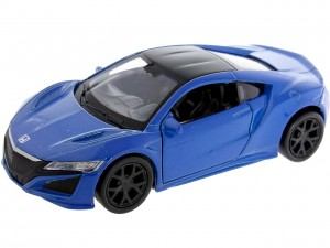 Model metalowy HONDA NSX SKALA 1:34-39 WELLY Auto NIEBIESKA