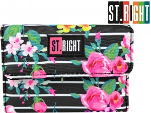 ST.RIGHT PORTFEL NW2 Potfelik LIGHT ROSES 618543 Róże