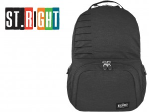 ST.RIGHT PLECAK 3-komorowy BP35 DIM GRAY MELANGE  26 L