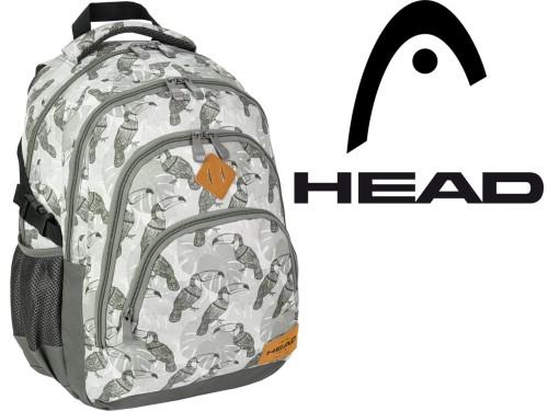 37a86f0ccbcfe HEAD PLECAK Szkolny Młodzieżowy HD-48 tornister PTAKI Tukany PLUSZNET